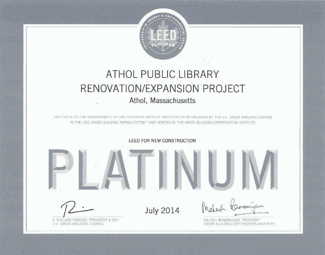 Athol-LEED-Platinum