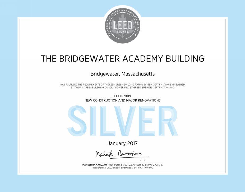 BridgewaterLEEDSilver